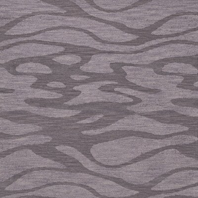 Bella Purple Area Rug Rug Size: Square 8