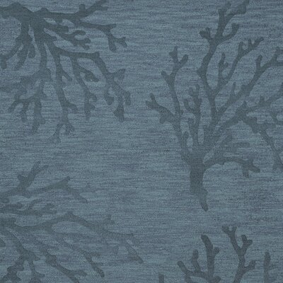 Bella Blue Area Rug Rug Size: Square 10