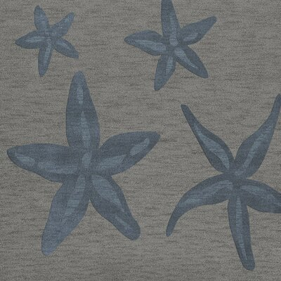 Bella Gray/Blue Area Rug Rug Size: Square 10