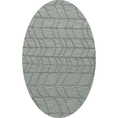 Bella Gray Area Rug Rug Size: Oval 12 x 15