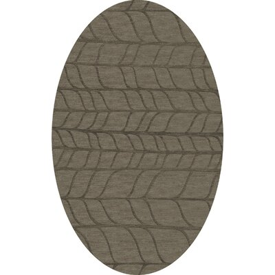 Bella Gray Area Rug Rug Size: Oval 8 x 10