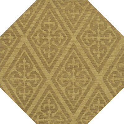 Bella Machine Woven Wool Beige Area Rug Rug Size: Octagon 4