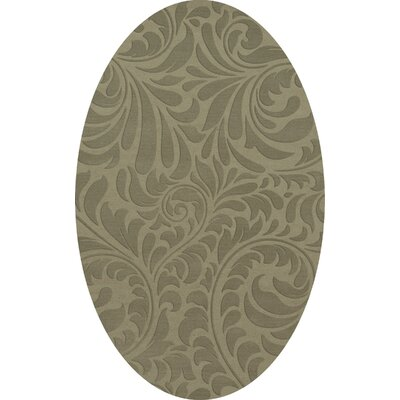 Bella Gray Area Rug Rug Size: Oval 10 x 14