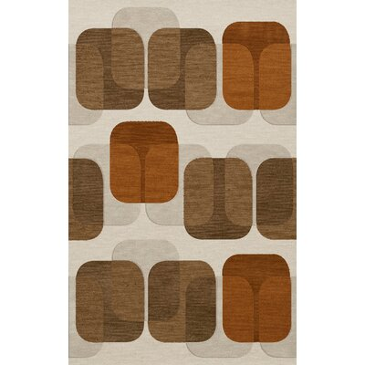 Bella Brown Area Rug Rug Size: Rectangle 12 x 18