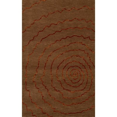 Bella Brown Area Rug Rug Size: Rectangle 8 x 10