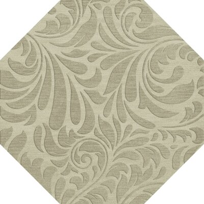 Bella Gray Area Rug Rug Size: Octagon 6