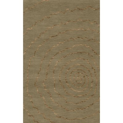 Bella Machine Woven Wool Gray Area Rug Rug Size: Rectangle 4 x 6
