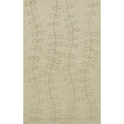 Bella Machine Woven Wool Gray Area Rug Rug Size: Rectangle 3' x 5'