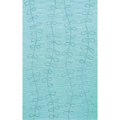 Bella Machine Woven Wool Blue Area Rug Rug Size: Rectangle 12 x 15