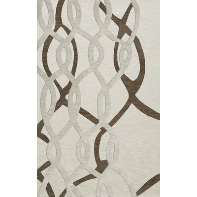Bella Machine Woven Wool Gray Area Rug Rug Size: Rectangle 12' x 18'