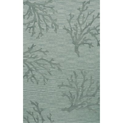 Bella Machine Woven Wool Gray Area Rug Rug Size: Rectangle 12 x 18