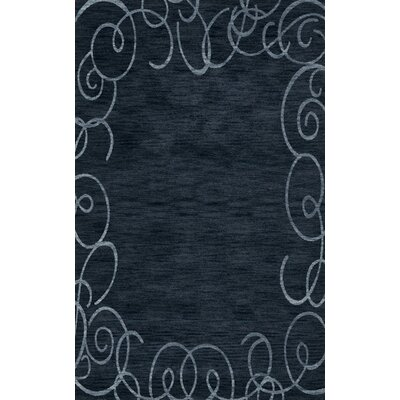 Bella Blue Area Rug Rug Size: Rectangle 3 x 5