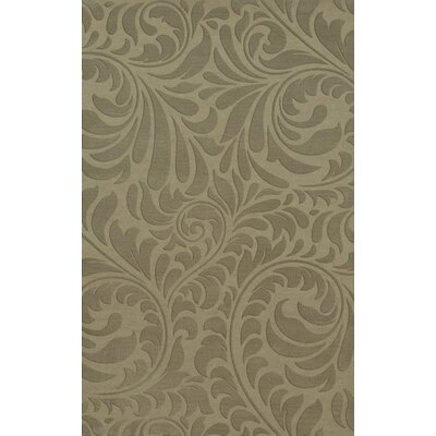 Bella Machine Woven Wool Gray Area Rug Rug Size: Rectangle 9 x 12