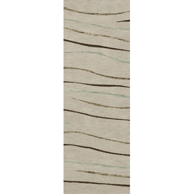 Bella Gray Area Rug Rug Size: Runner 26 x 10