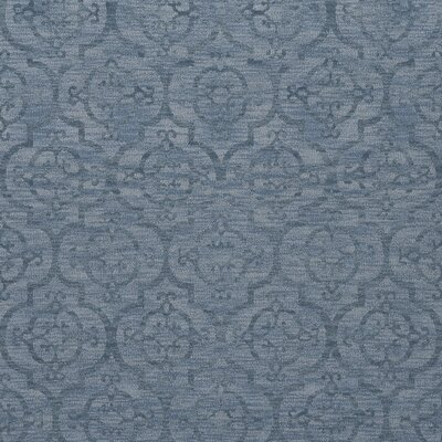 Bella Machine Woven Wool Blue Area Rug Rug Size: Square 10