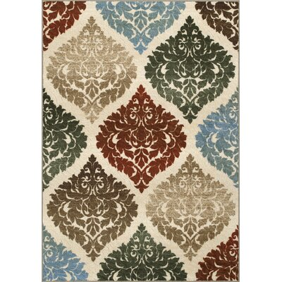 Horizons Beige Area Rug Rug Size: Rectangle 411 x 74