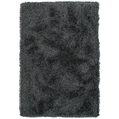 Impact Hand-Tufted Black Area Rug Rug Size: Rectangle 5 x 76