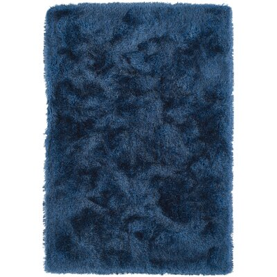 Impact Hand-Tufted Blue Area Rug Rug Size: Rectangle 36 x 56