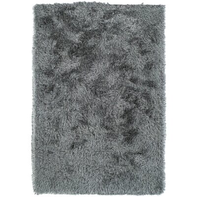 Impact Hand-Tufted Gray Area Rug Rug Size: Rectangle 8 x 10