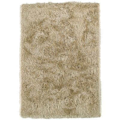 Impact Hand-Tufted Beige Area Rug Rug Size: Rectangle 5 x 76