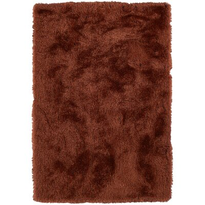 Impact Hand-Tufted Brown Area Rug Rug Size: 9 x 13