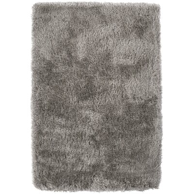 Impact Hand-Tufted Gray Area Rug Rug Size: Rectangle 5 x 76
