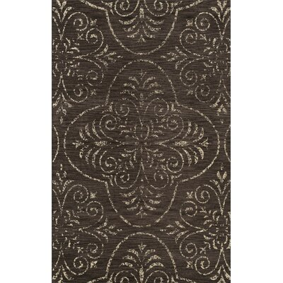 Cy Brown Area Rug Rug Size: 8 x 10