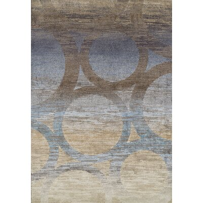Stan Brown Area Rug Rug Size: 53 x 77