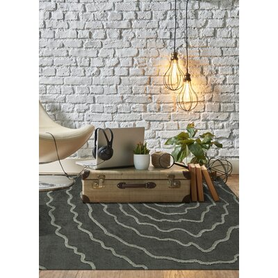 Dakota Gray Area Rug Rug Size: Rectangle 5 x 76