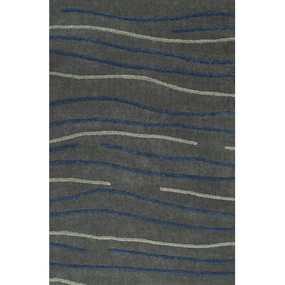 Dakota Gray Area Rug Rug Size: Rectangle 9 x 13