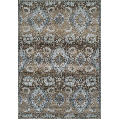 Bartlet Mocha Area Rug Rug Size: Rectangle 53 x 77
