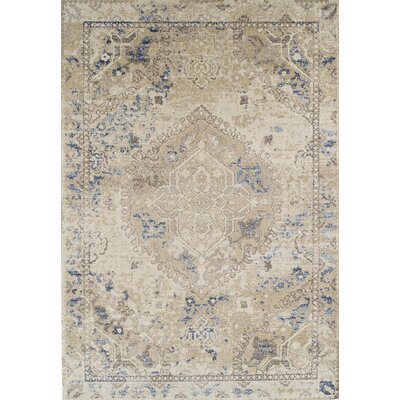 Bevin Beige Area Rug Rug Size: Rectangle 96 x 132
