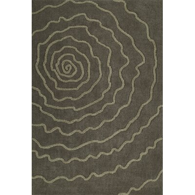 Dakota Taupe Area Rug Rug Size: Rectangle 5 x 76
