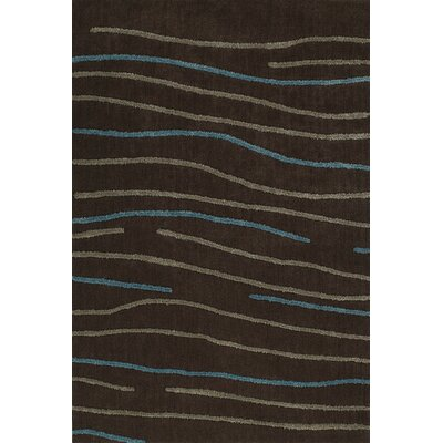 Dakota Chocolate Area Rug Rug Size: Rectangle 8 x 10
