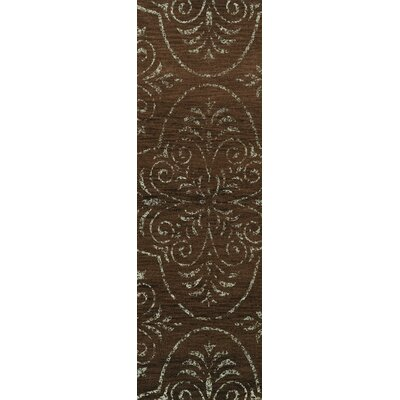 Elkton Brown Area Rug Rug Size: Runner 26 x 10