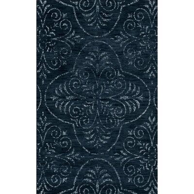 Elkton Blue Area Rug Rug Size: Rectangle 4 x 6