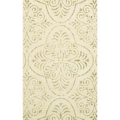 Bridge Beige Area Rug Rug Size: Oval 4 x 6