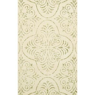 Bridge Beige Area Rug Rug Size: 10 x 14