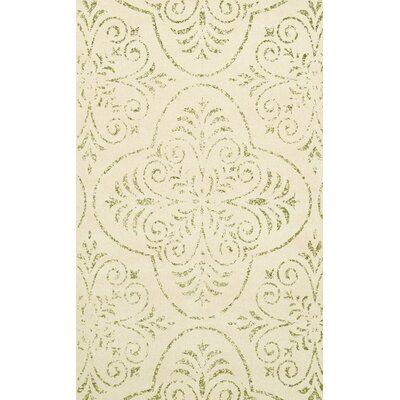 Bridge Beige Area Rug Rug Size: 4 x 6
