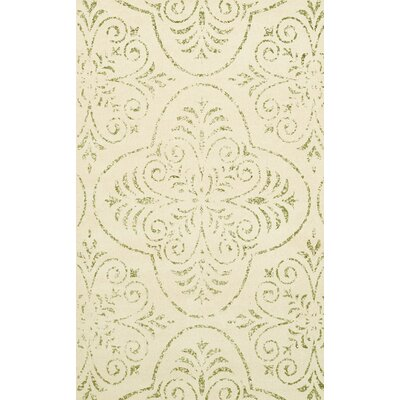 Bridge Beige Area Rug Rug Size: 9 x 12