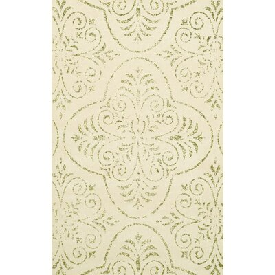 Bridge Beige Area Rug Rug Size: 12 x 18