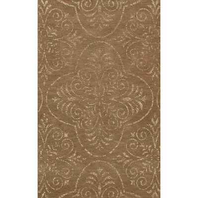 Bridge Brown Area Rug Rug Size: Octagon 10