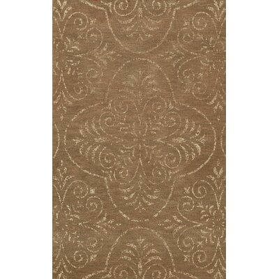 Bridge Brown Area Rug Rug Size: Round 10