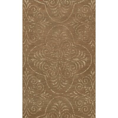 Bridge Brown Area Rug Rug Size: 9 x 12