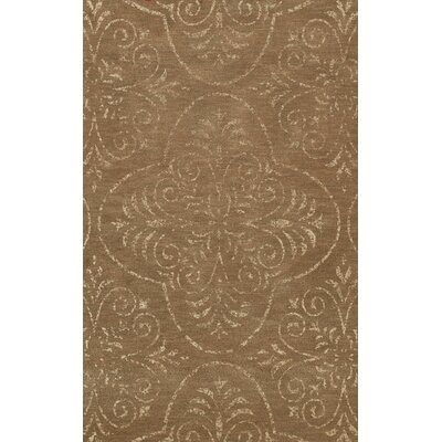 Elkton Brown Area Rug Rug Size: Oval 3 x 5