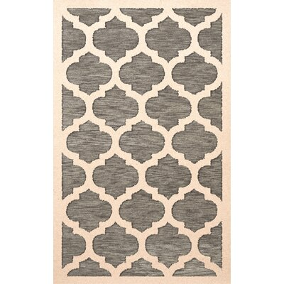 Bella Gray/Beige Area Rug Rug Size: Rectangle 6 x 9