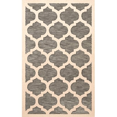 Bella Gray/Beige Area Rug Rug Size: Rectangle 5 x 8