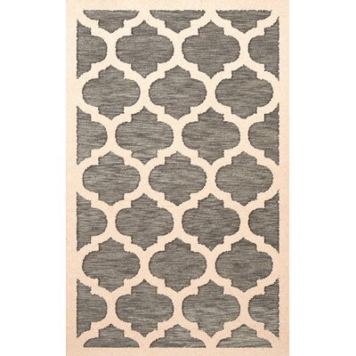 Bella Gray/Beige Area Rug Rug Size: Rectangle 8 x 10