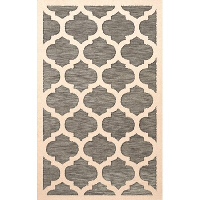 Bella Gray/Beige Area Rug Rug Size: Rectangle 10 x 14