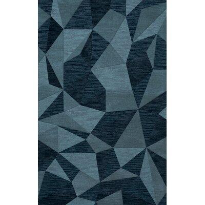 Bella Blue Area Rug Rug Size: 5 x 8